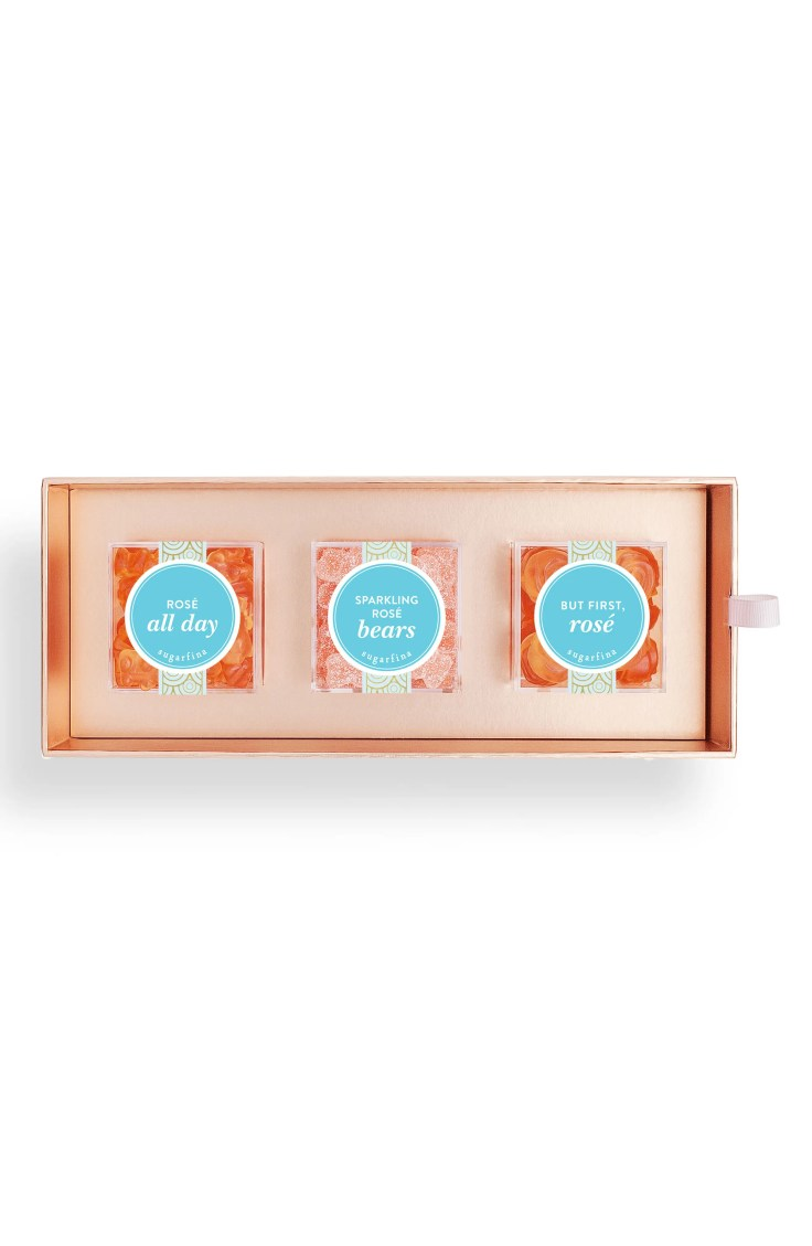 Sugarfina 3 Piece Rose Candy Bento Box