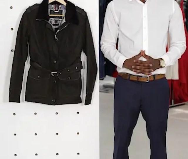 Stirling Faux Fur Trim Waxed Cotton Jacket Sales Video Thumbnail