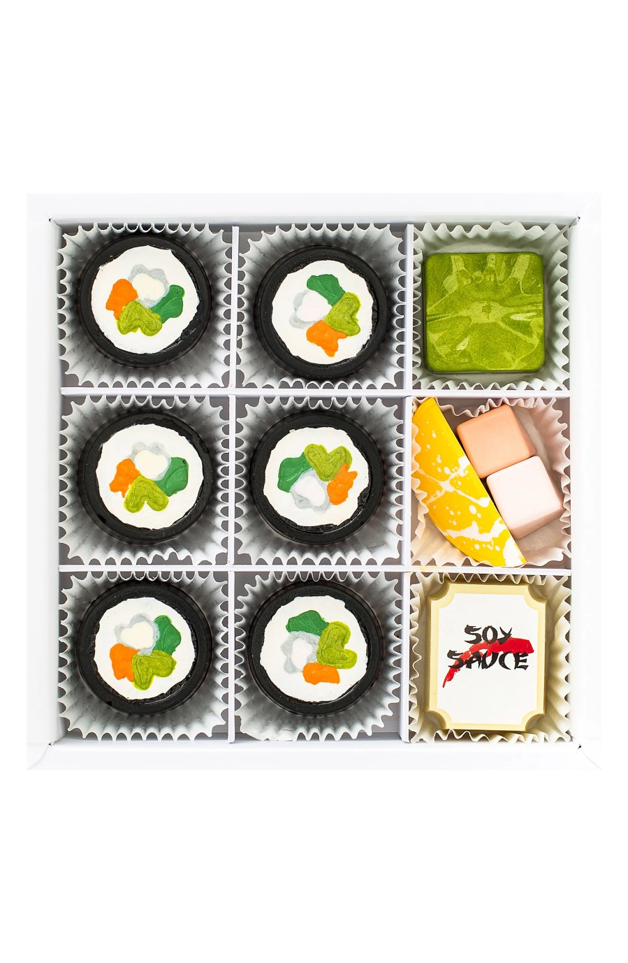 Sushi 9-Piece Chocolate Set MAGGIE LOUISE CONFECTIONS
