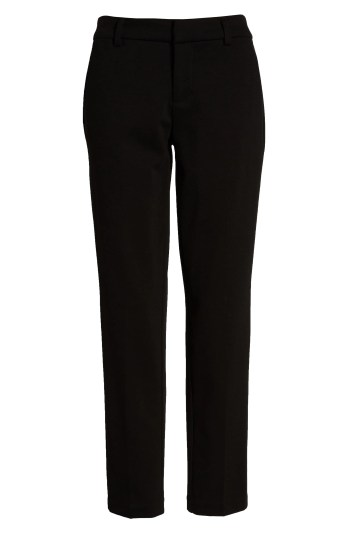 Kelsey Knit Trousers,                         Alternate,                         color, BLACK