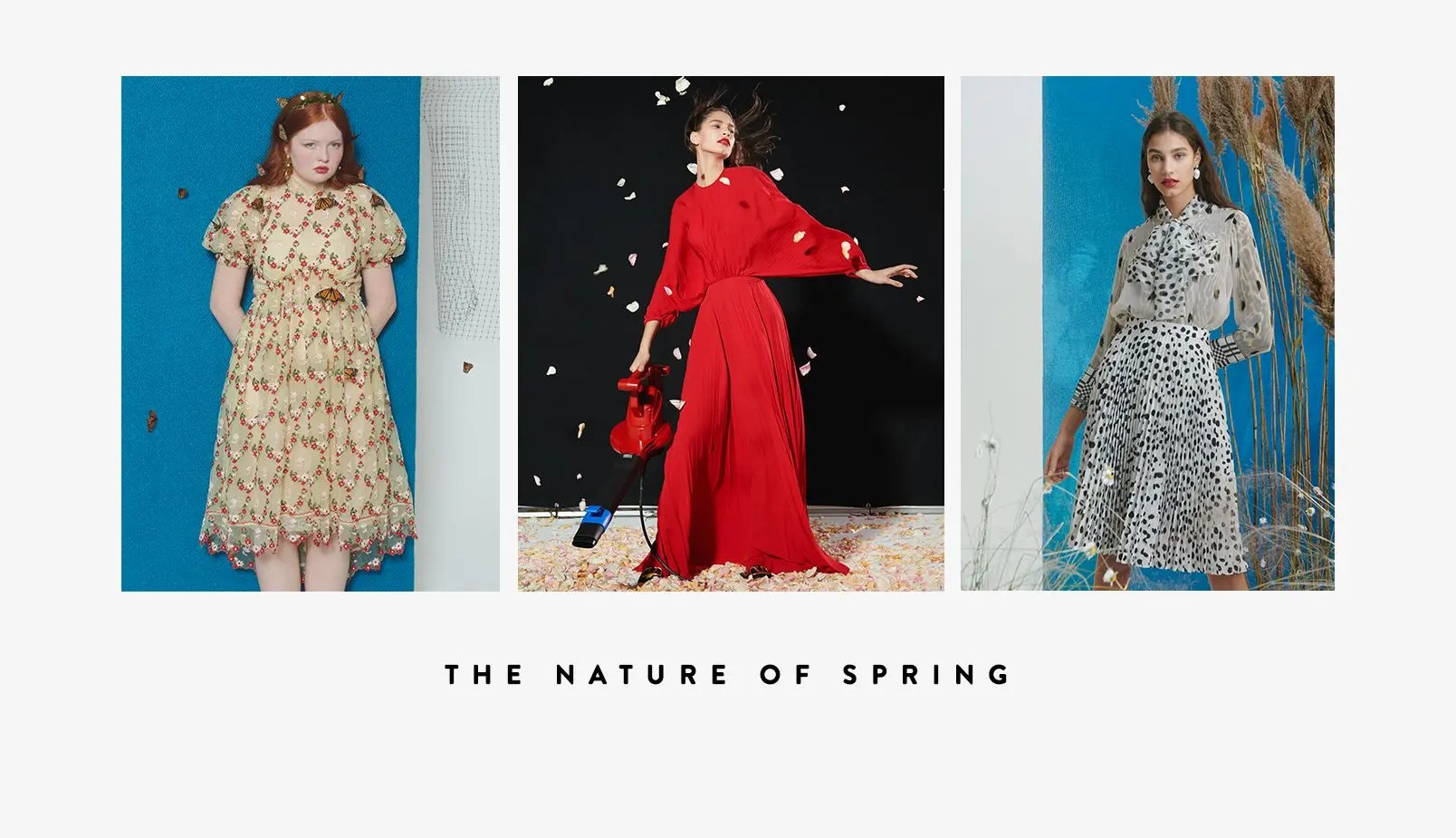 the nature of spring spring 2019 women s campaign