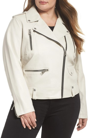 Lamb Touch Faux Leather Moto Jacket, Main, color, OYSTER