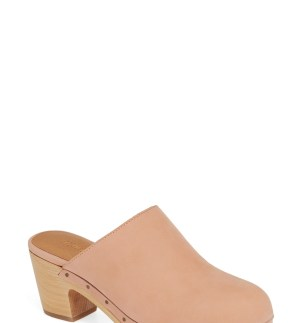 The Ayanna Clog, Main, color, ANTIQUE CORAL