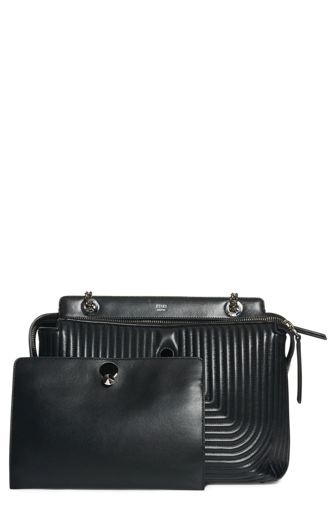 ff4db20d5768 Fendi Dotcom Quilted Lambskin Leather Shoulder Bag – Black – NORDSTROM.com  – $3,300.00