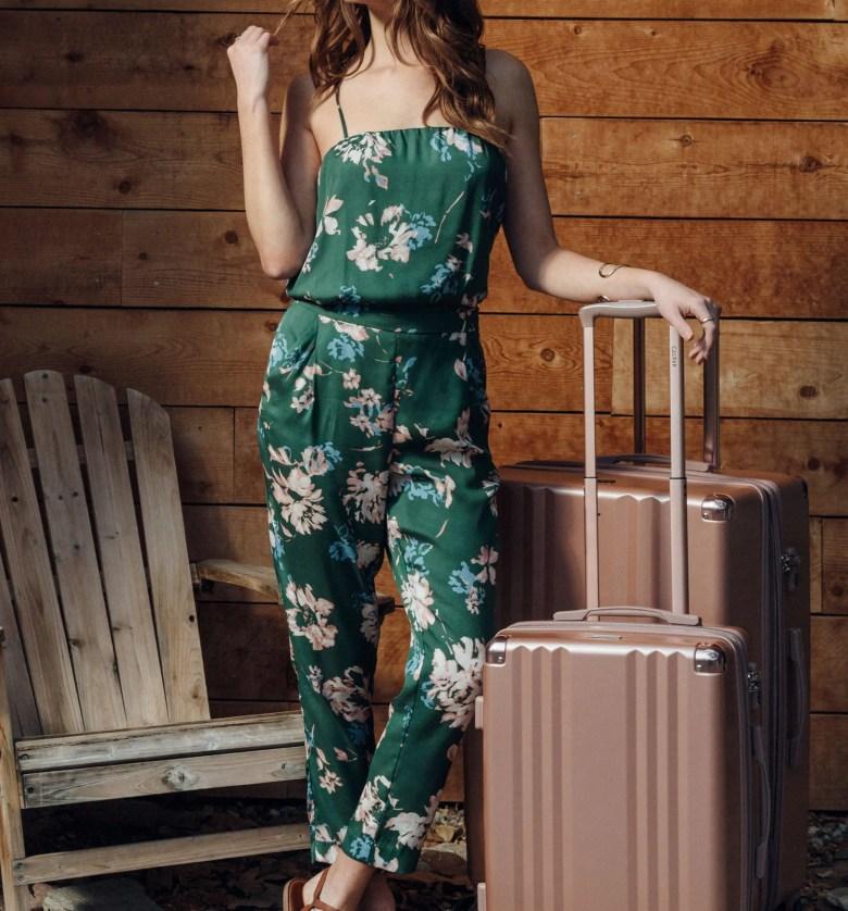 Ambeur 2-Piece Spinner Luggage Set, Alternate, color, ROSE GOLD