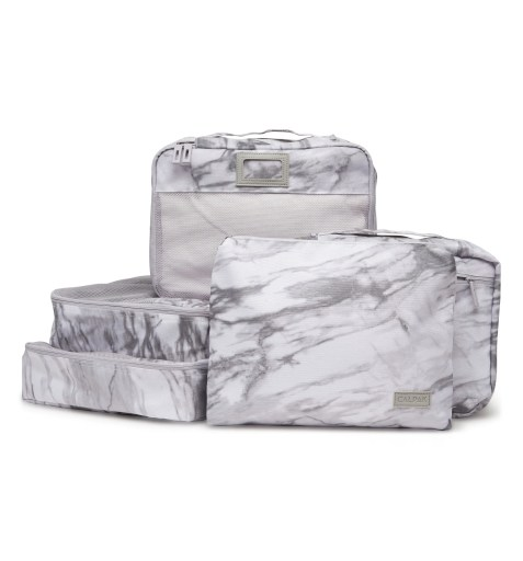 5-Piece Packing Cube Set,                         Main,                         color, MILK MARBLE