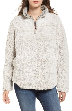 Wubby Fleece Pullover, Main, color, IVORY
