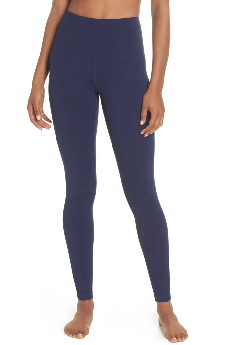 Live In High Waist Leggings,                         Main,                         color, NAVY MARITIME