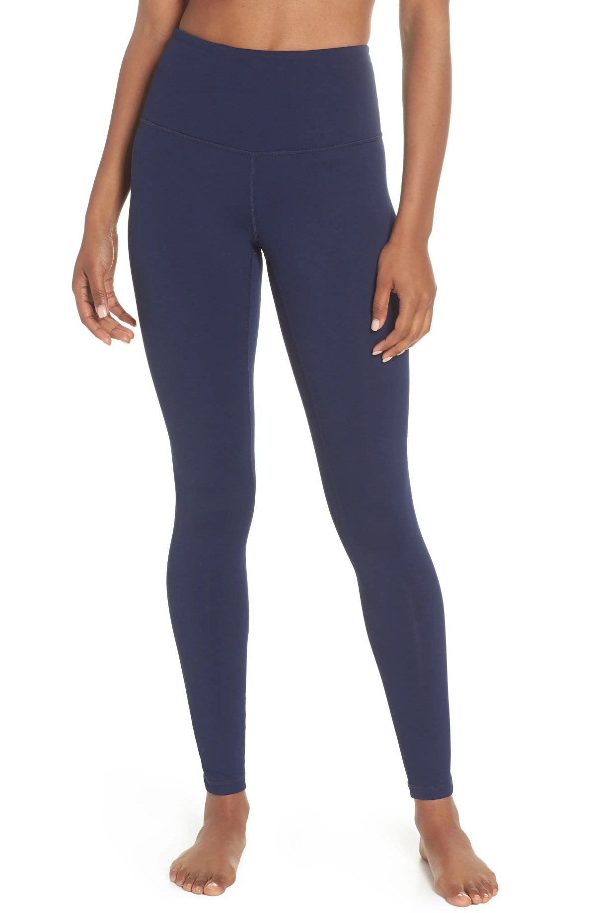 ZELLA Live In High Waist Leggings, Main, color, NAVY MARITIME