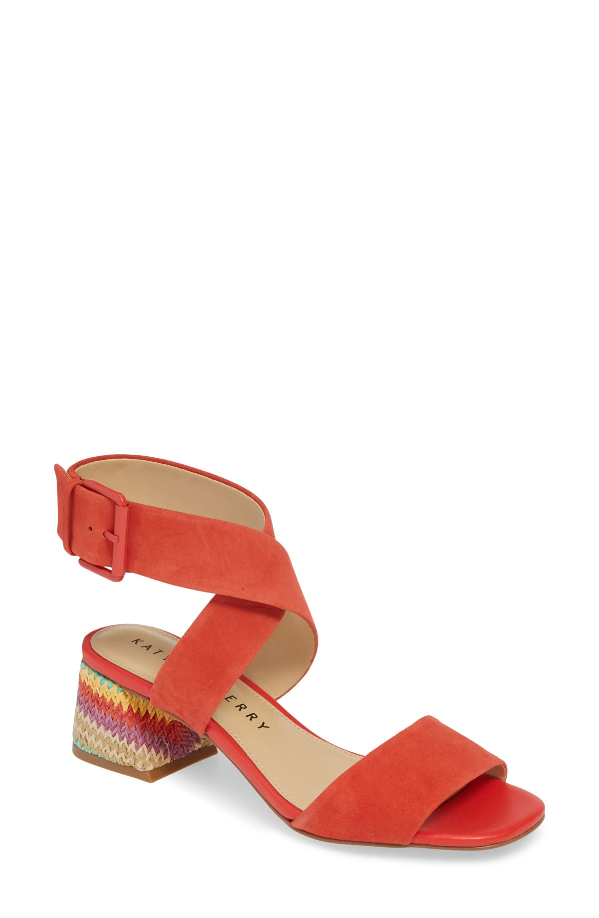 KATY PERRY Albee Sandal, Main, color, SCARLET