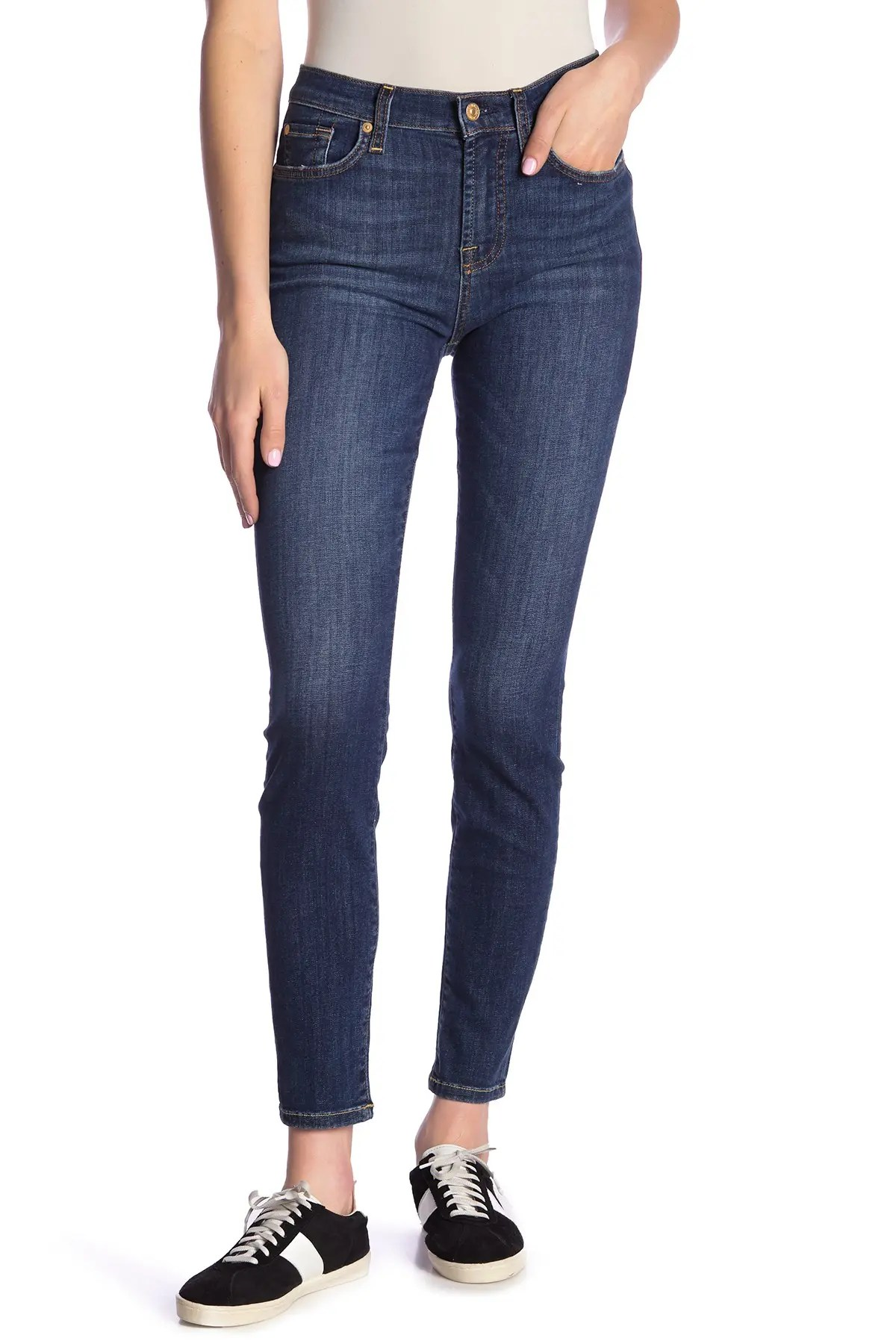 gwenevere high waist skinny jeans