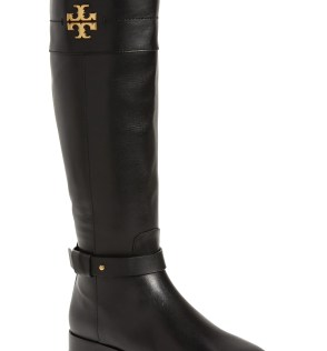 Everly Knee High Boot, Main, color, PERFECT BLACK/ PERFECT BLACK