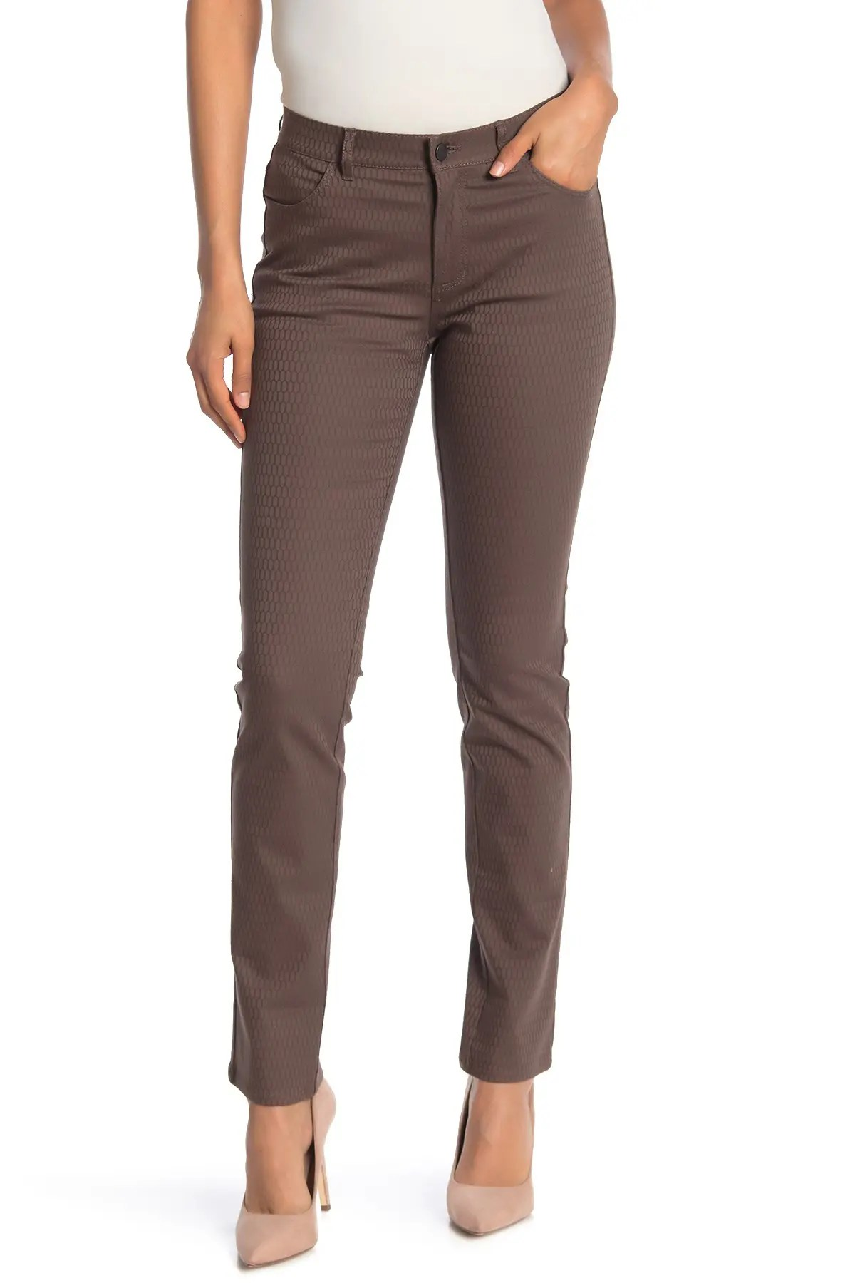 thompson textured pants
