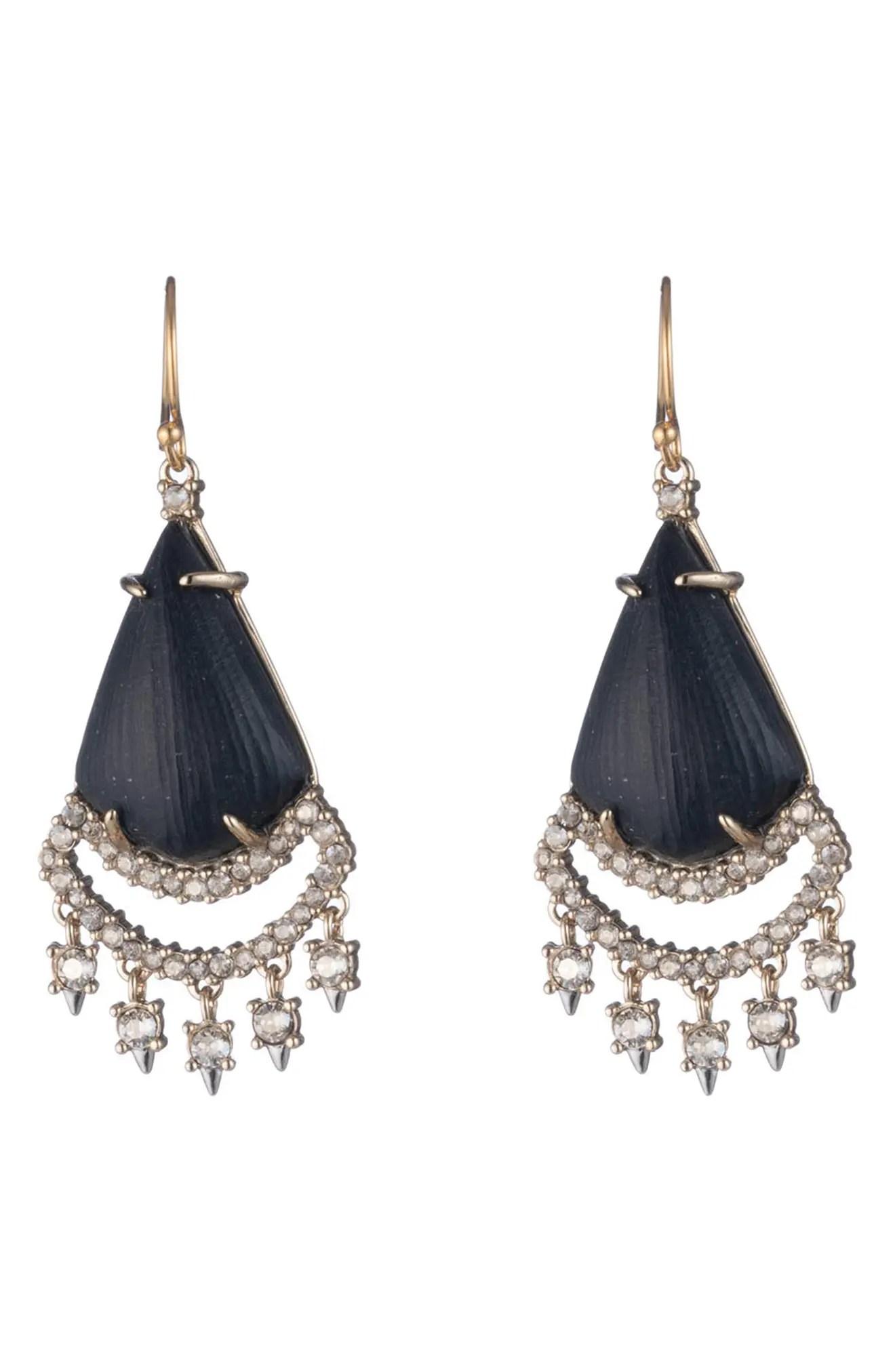 alexis bittar crystal lace chandelier drop earrings nordstrom rack
