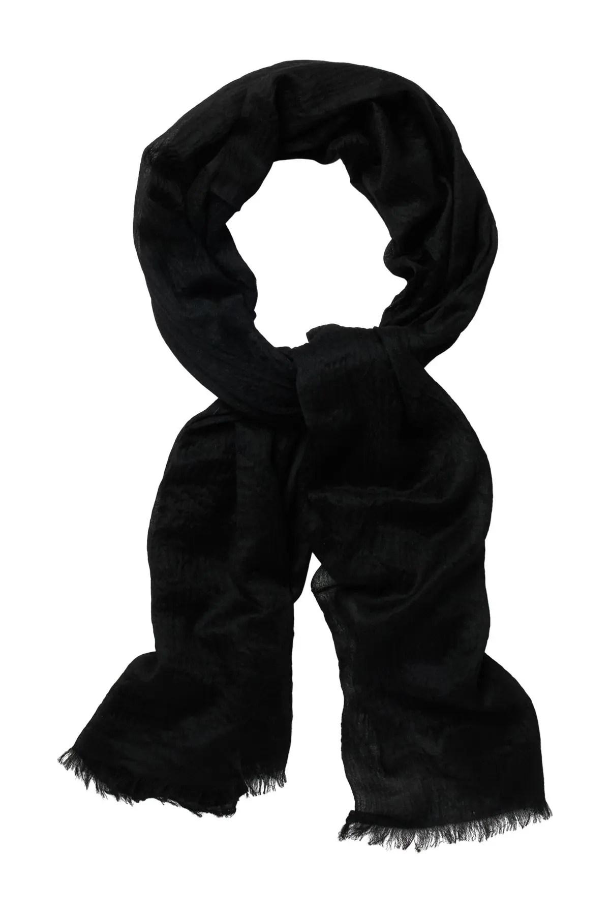 phenix solid cashmere wrap scarf