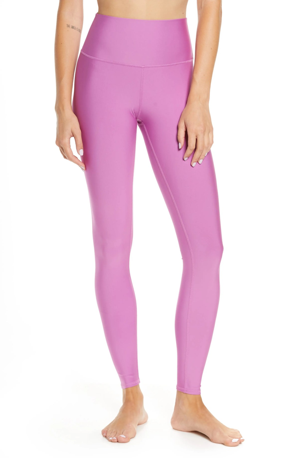 ALO Airlift High Waist Leggings, Main, color, ORCHID
