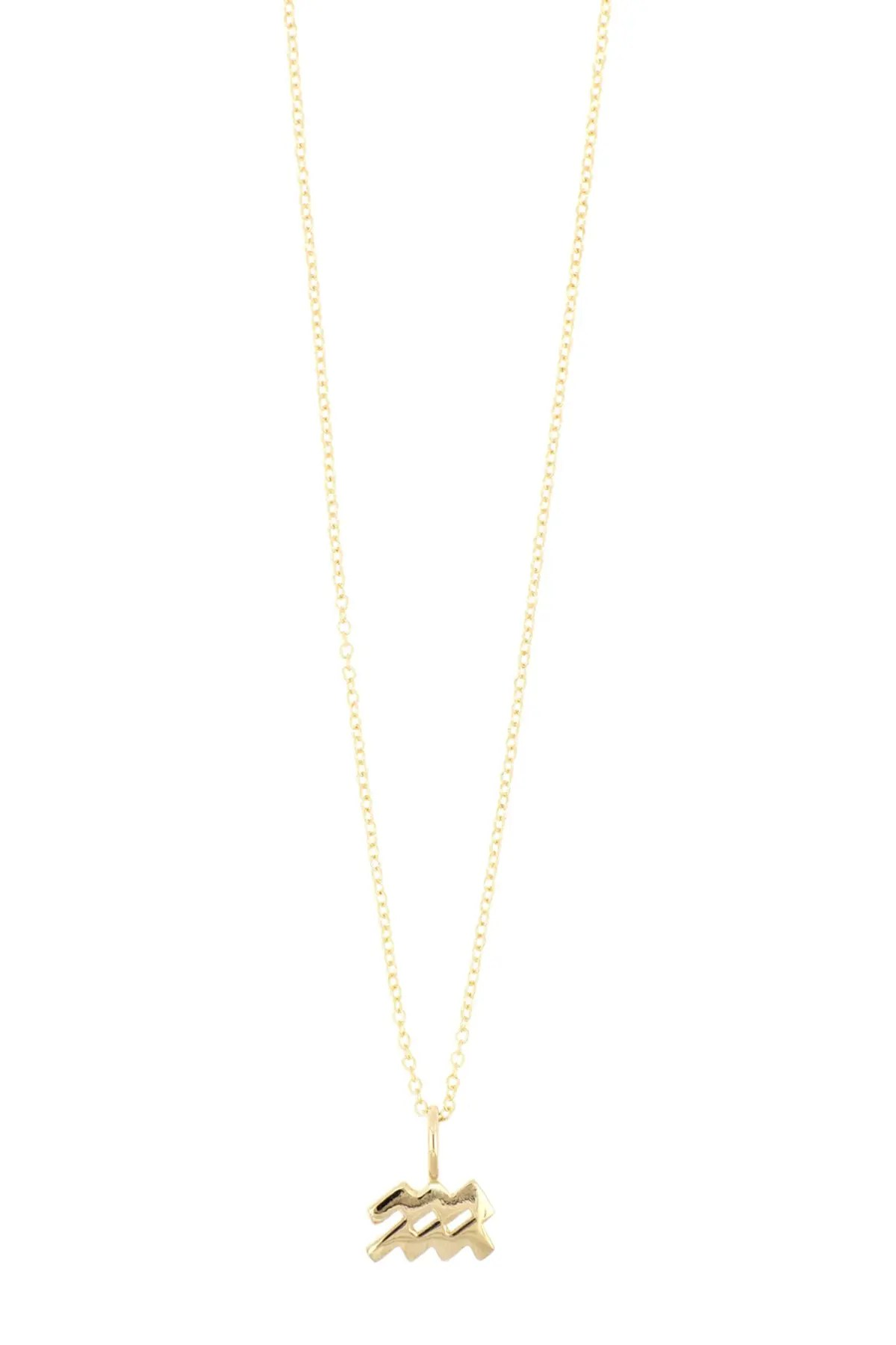 bony levy 14k gold petite horoscope pendant necklace multiple signs available nordstrom rack