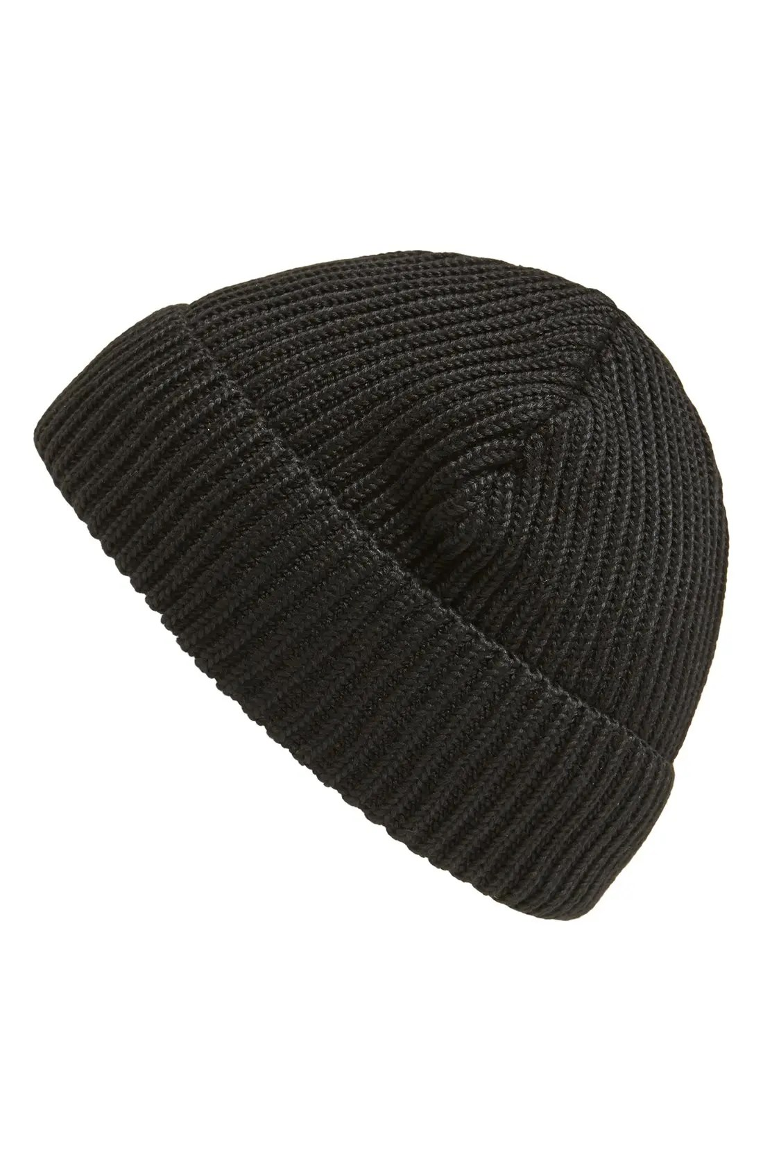 PATAGONIA Fisherman Beanie, Main, color, BLACK