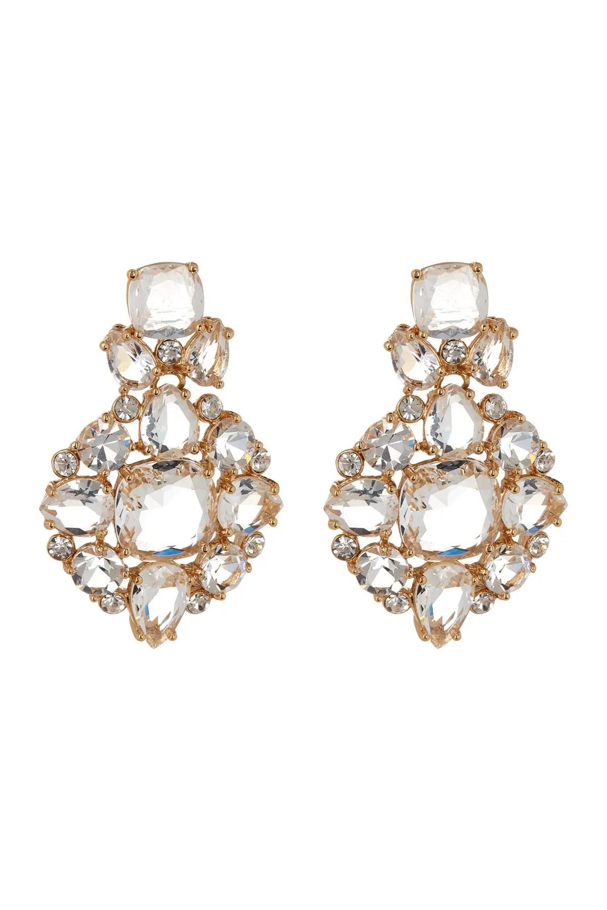 kate spade new york make me blush statement earrings nordstrom rack