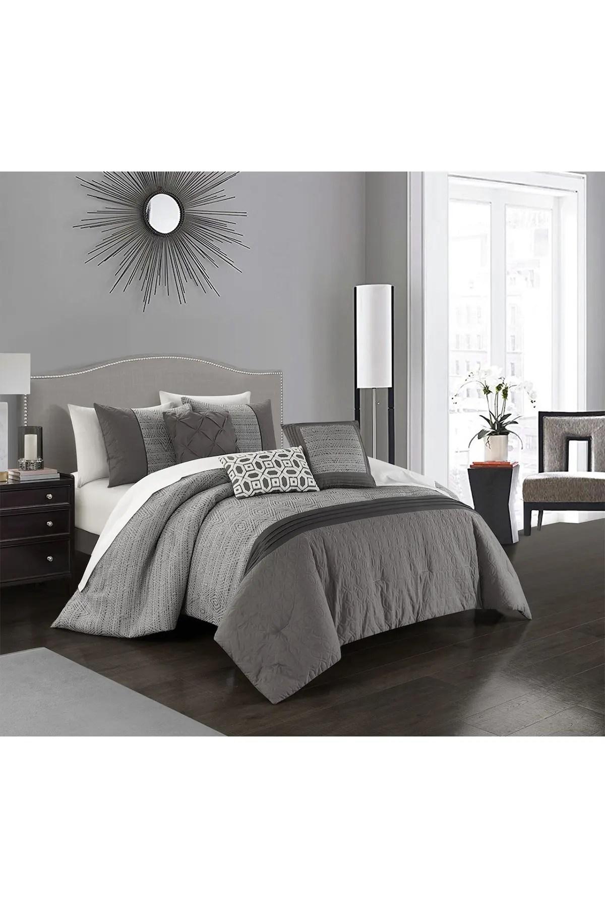 chic home bedding imala jacquard