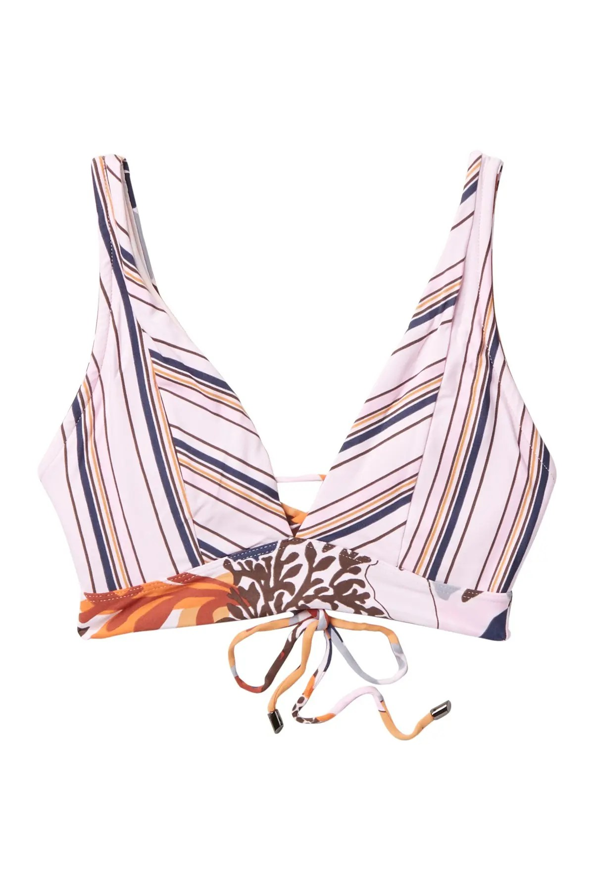maaji nassau allure reversible bikini top nordstrom rack