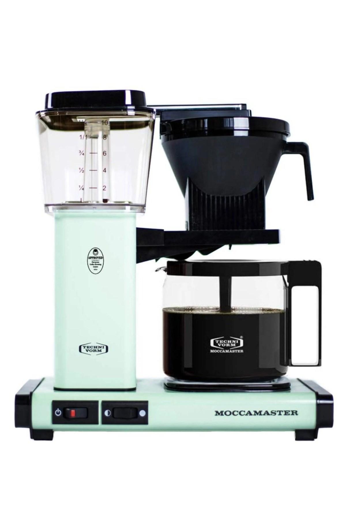 MOCCAMASTER KBG Coffee Brewer, Main, color, PISTACHIO