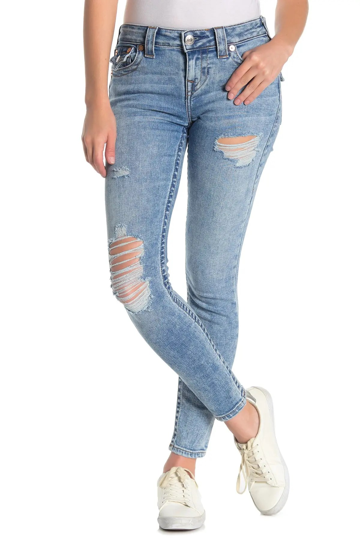 true religion halle flap destroyed skinny jeans nordstrom rack