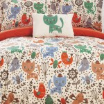 Chic Home Bedding Twin Siobhan Reversible Cute Animals Bed In A Bag Orange Nordstrom Rack