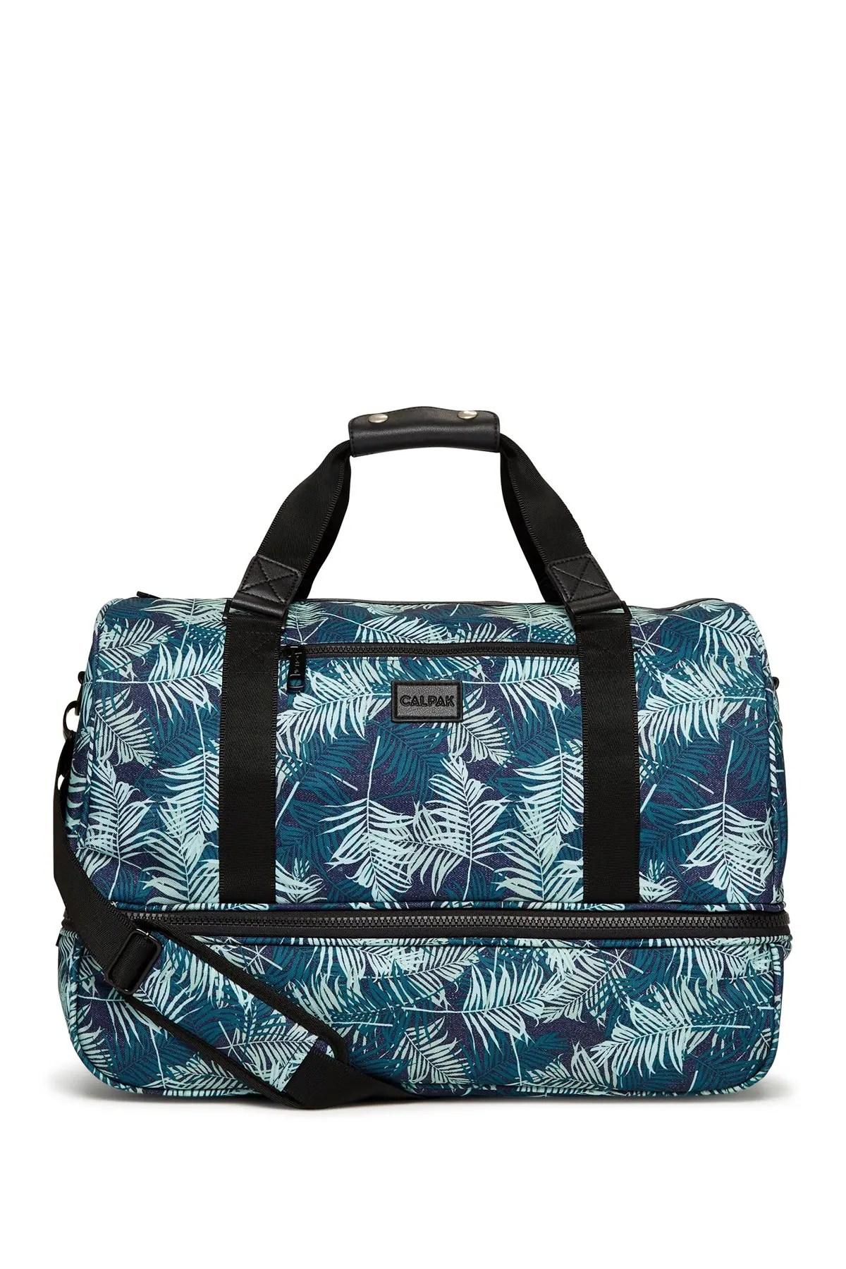 calpak luggage stevyn drop bottom duffel bag nordstrom rack