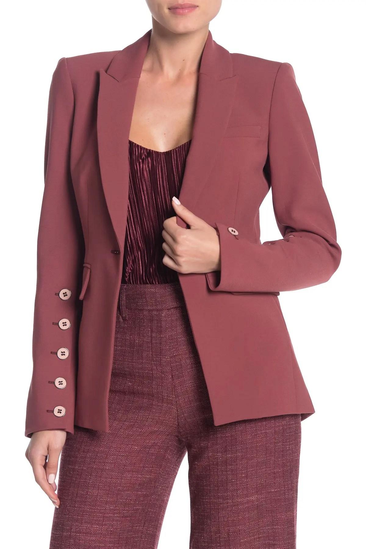 veronica beard fogg button sleeve dickey jacket nordstrom rack