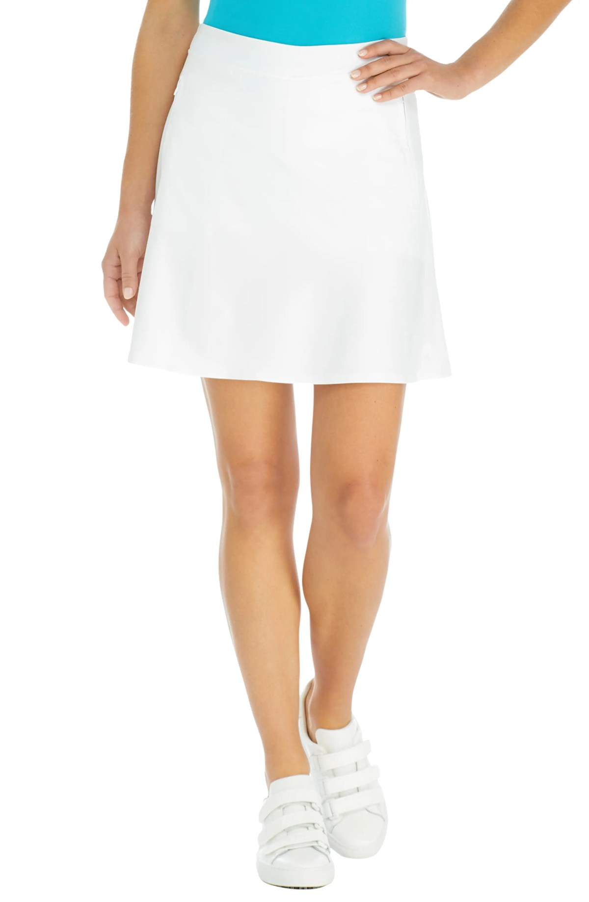Effortless Golf Skort, Main, color, SNOW