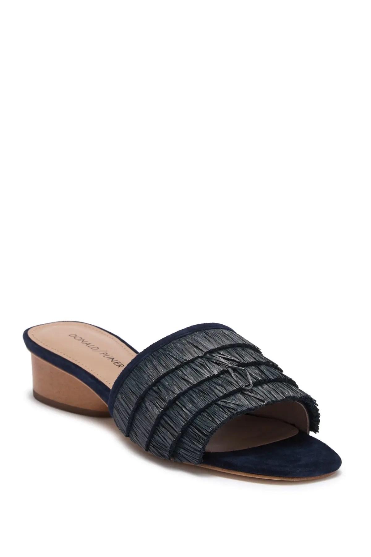 donald pliner reise slide sandal