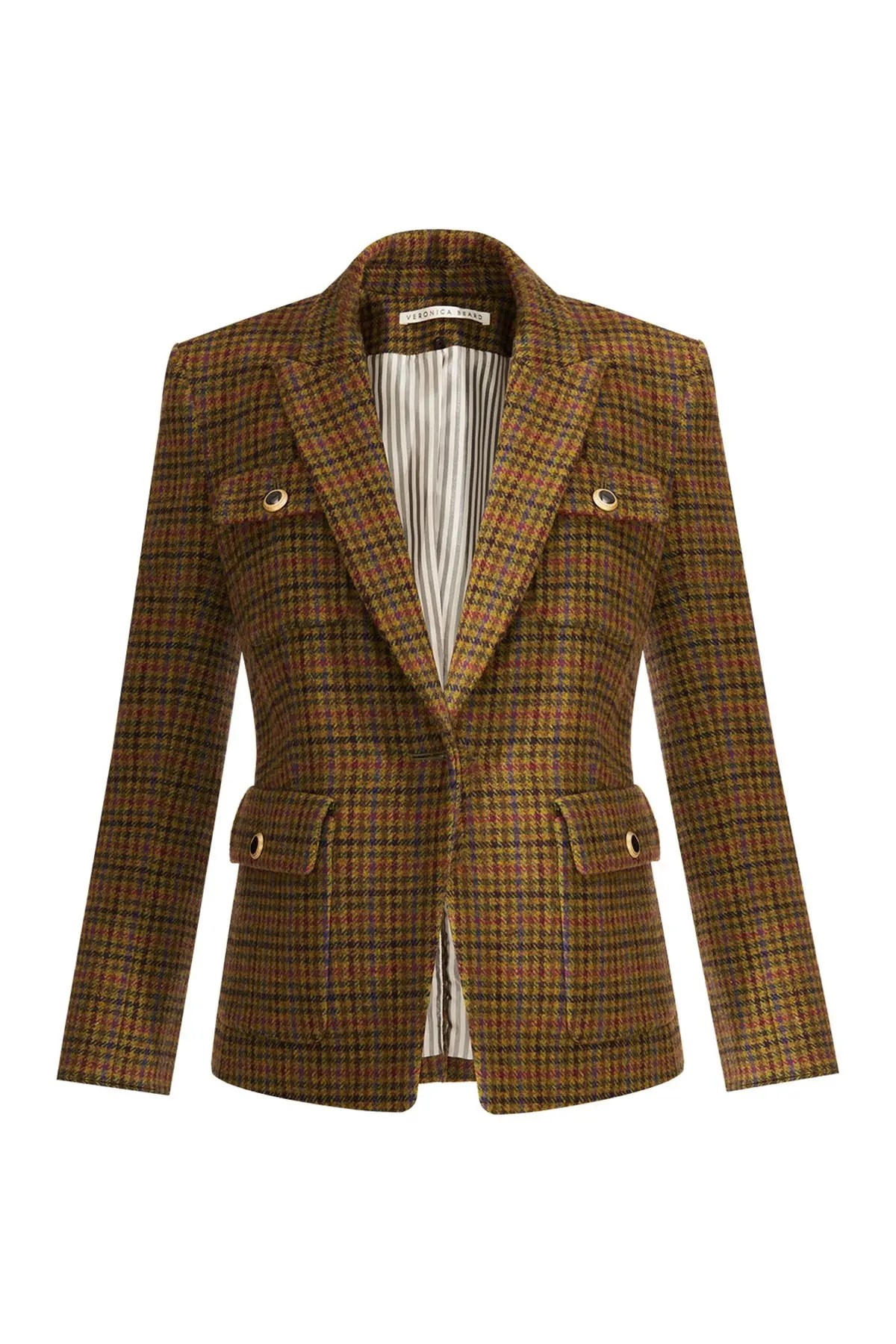 veronica beard hamlin silk blend dickey jacket nordstrom rack