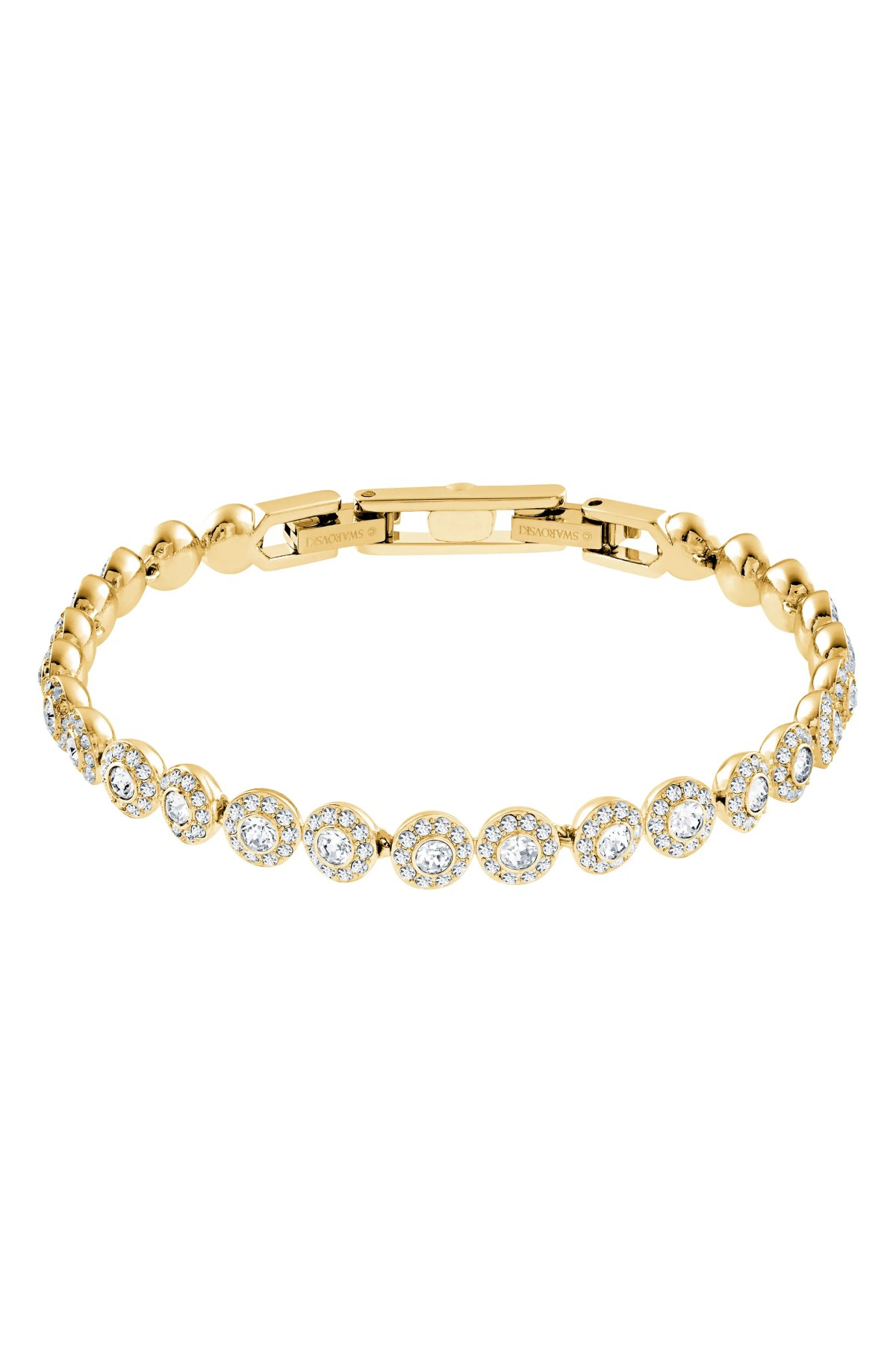 SWAROVSKI Angelic Crystal Line Bracelet, Main, color, CRYSTAL