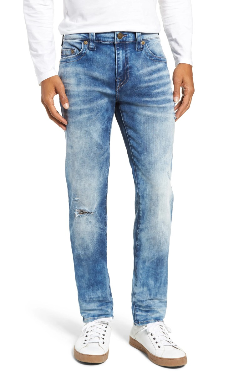 True Religion Brand Jeans Rocco Skinny Fit Jeans Blue Riot Nordstrom