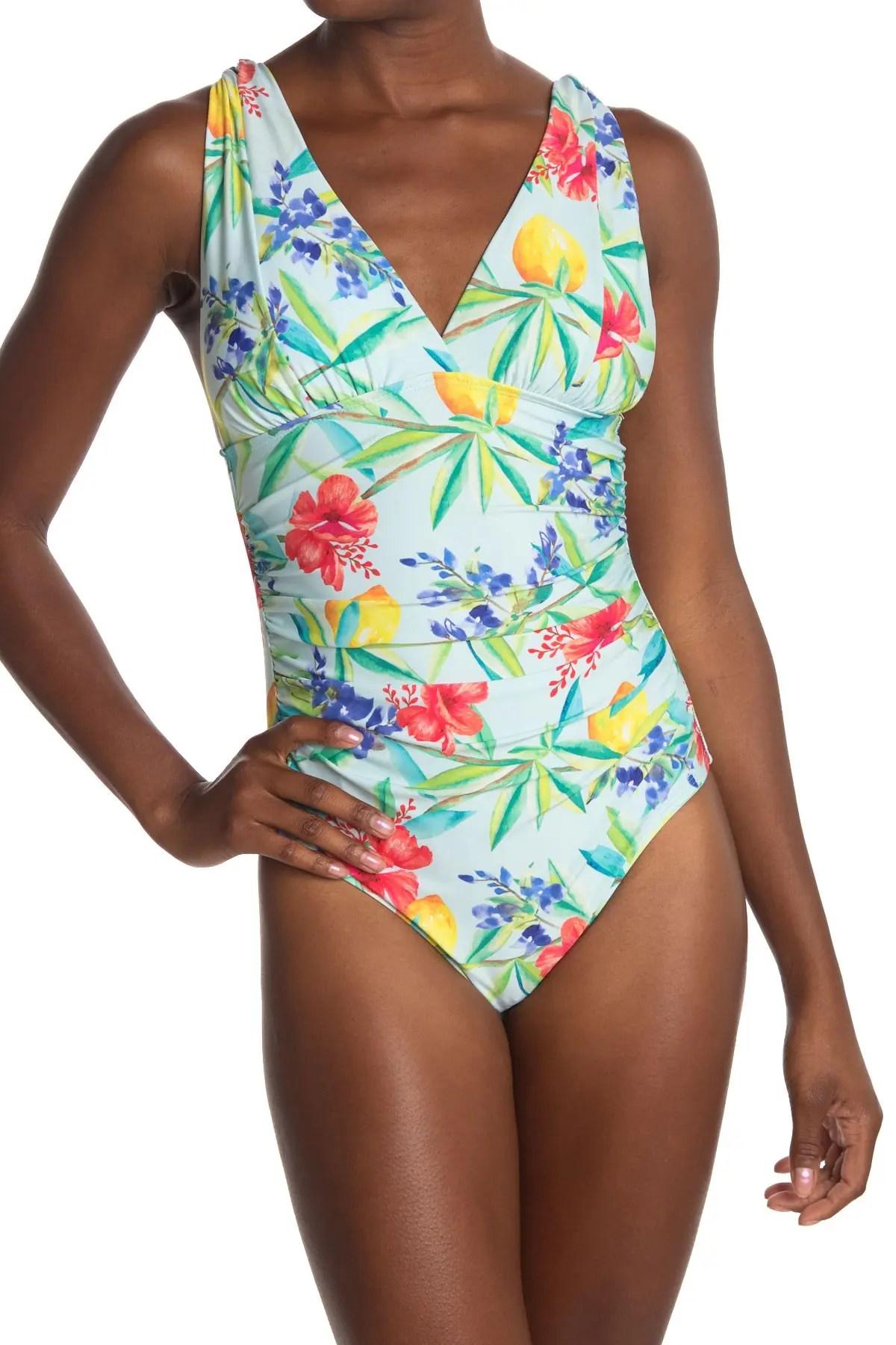athena simple pleasures one piece swimsuit nordstrom rack