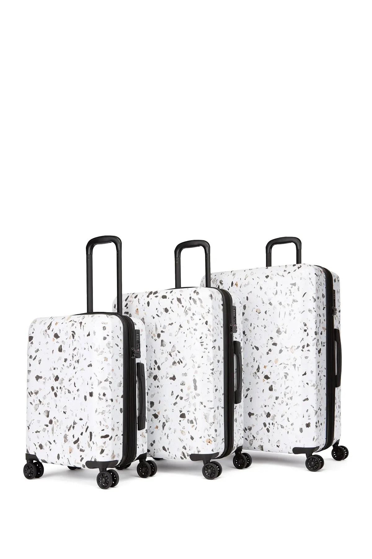 calpak luggage terrazzo 3 piece luggage set nordstrom rack
