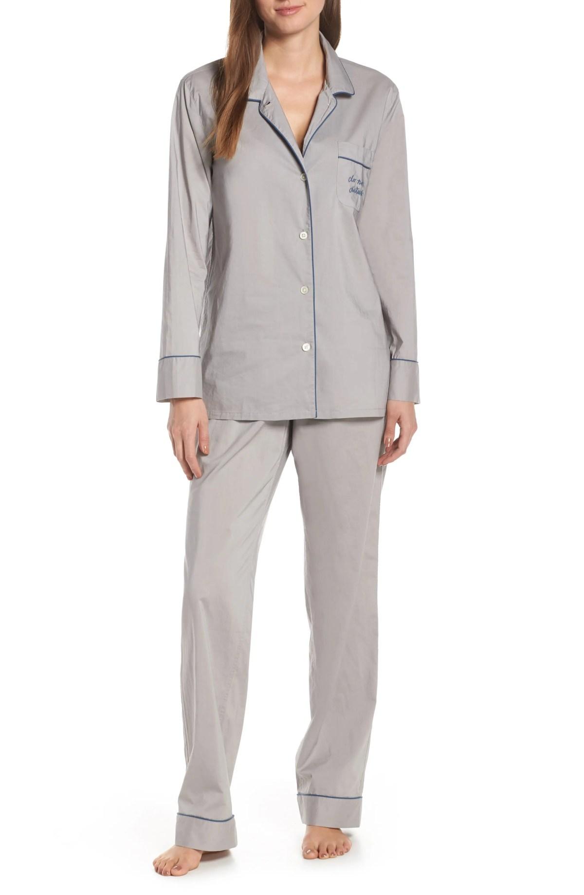 Vintage Pajamas, Main, color, VINTAGE DOVE