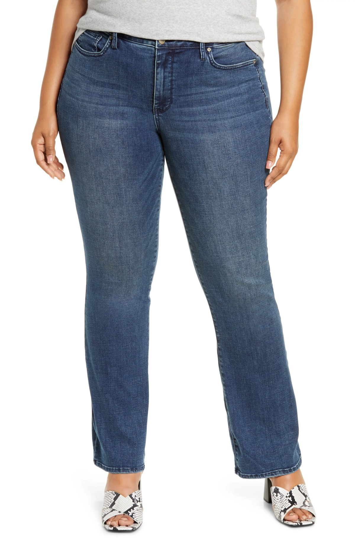 NYDJ Barbara Bootcut Jeans, Main, color, LAZARO