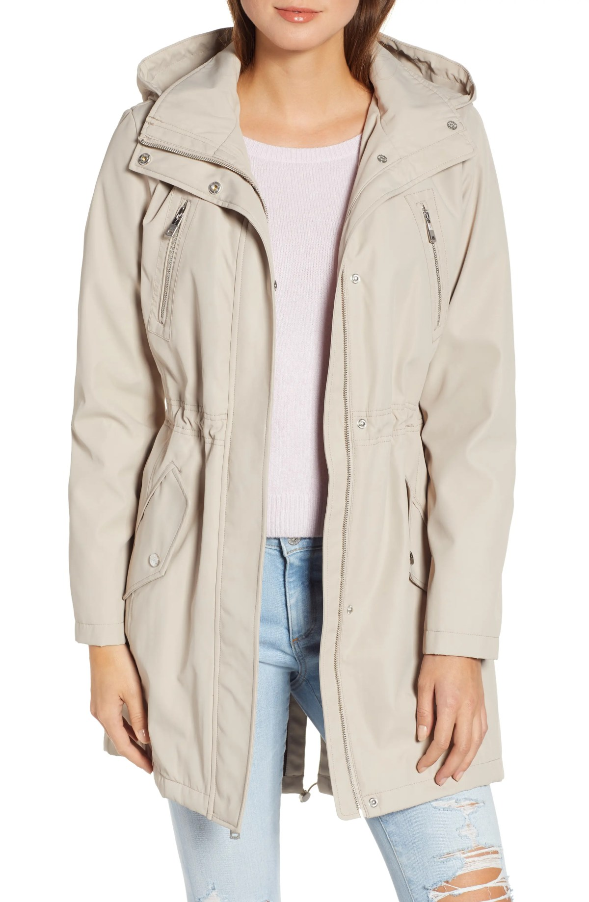 KENNETH COLE NEW YORK Soft Shell Jacket, Main, color, BONE