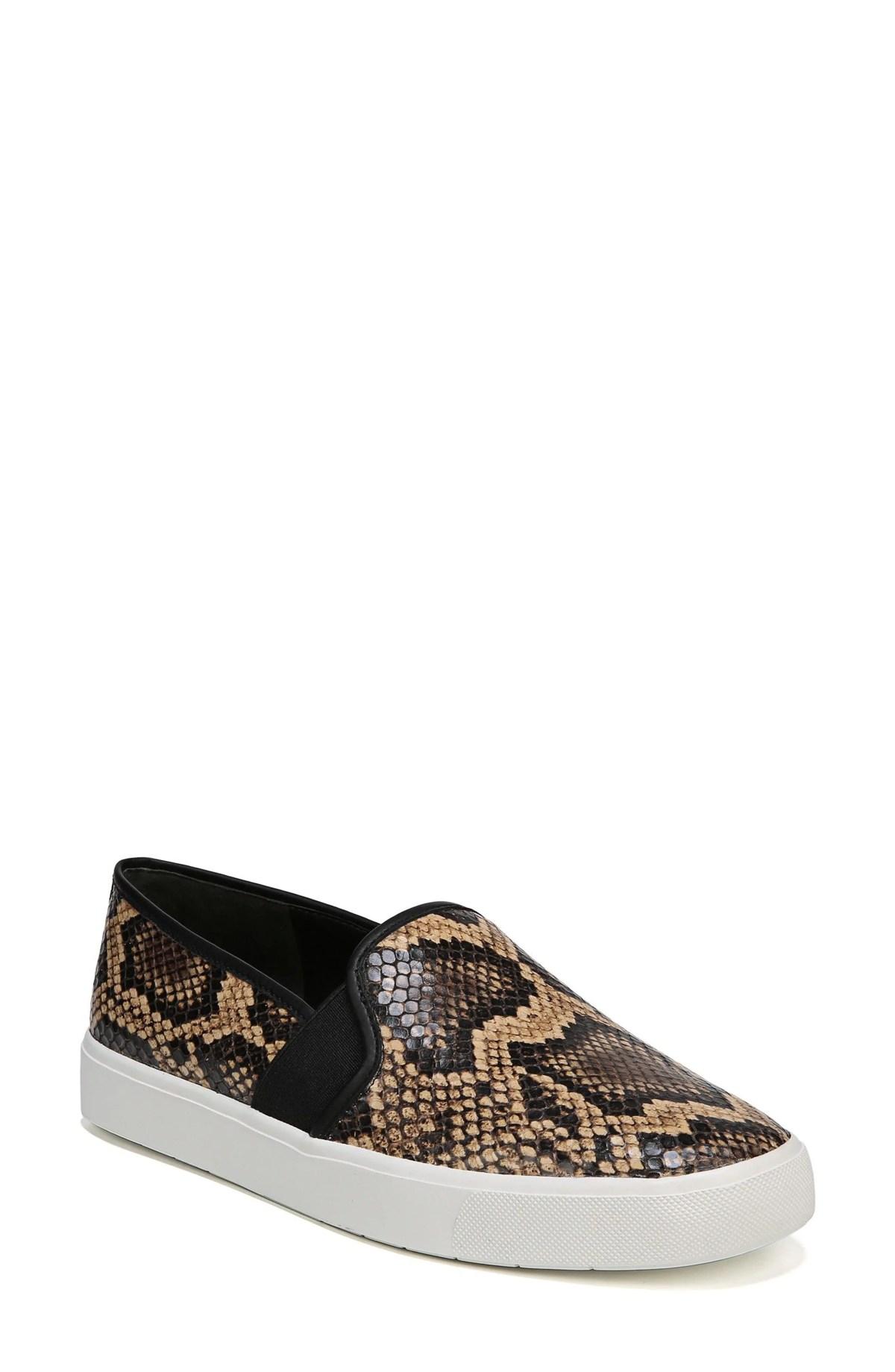 VINCE Blair 5 Slip-On Sneaker, Main, color, SENEGAL SNAKE PRINT