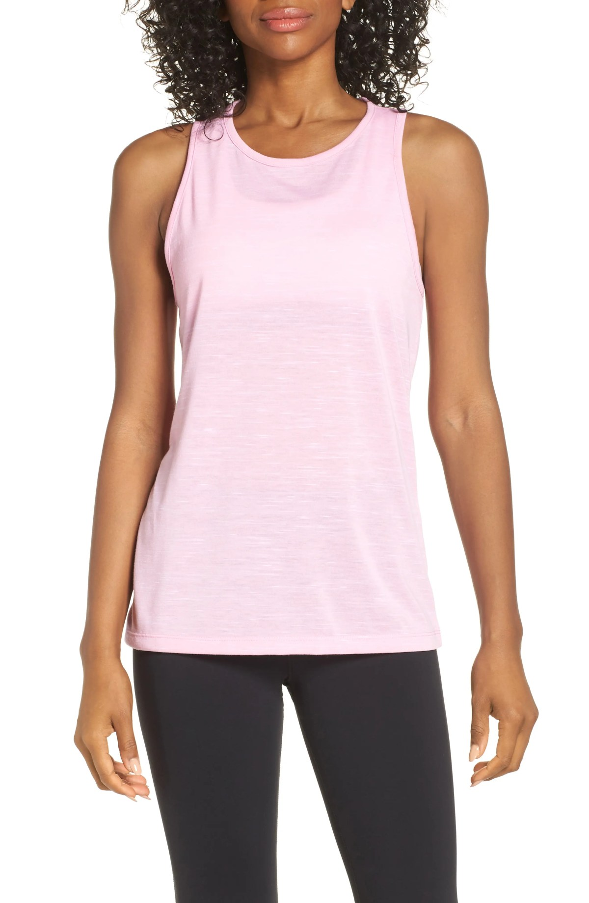 Legend Dri-FIT Tank, Main, color, PINK RISE/ WHITE/ WHITE