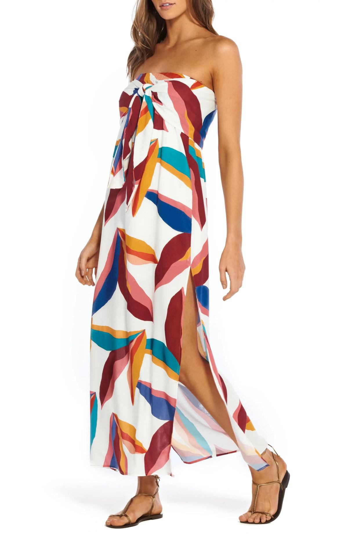 Guana Tess Cover-Up Maxi Dress, Main, color, GUANA