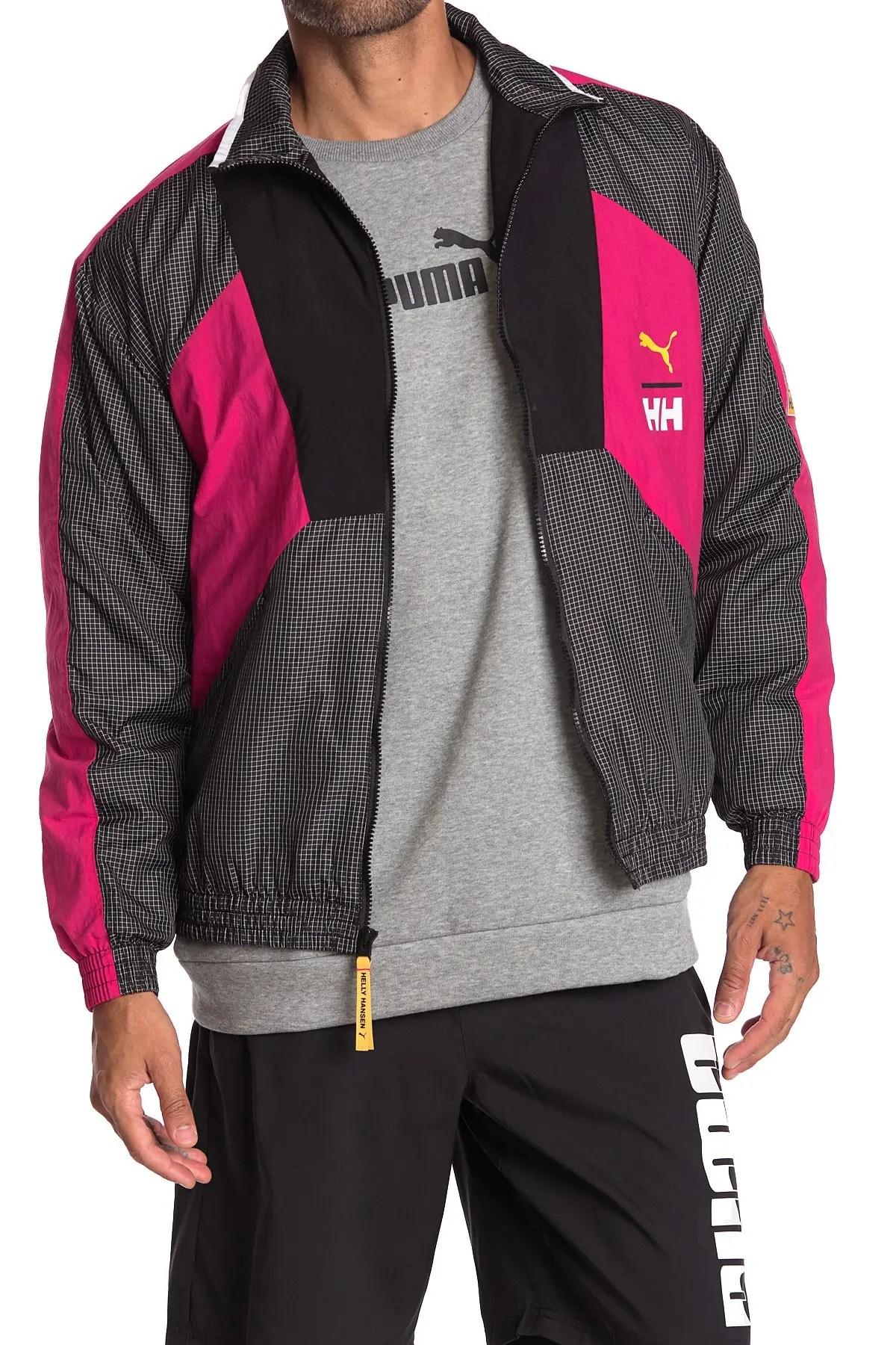 puma x helly hansen colorblock track jacket nordstrom rack