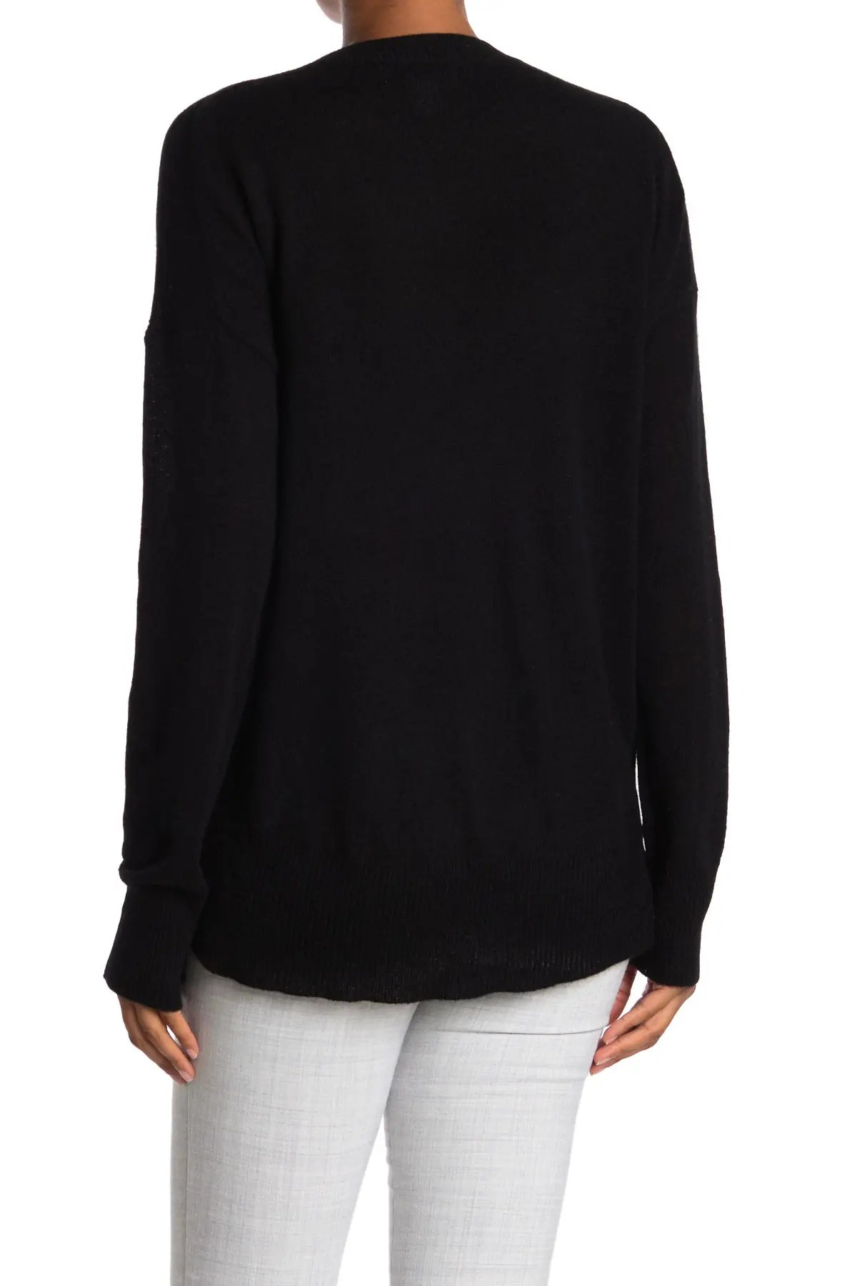 m magaschoni high low pullover cashmere sweater nordstrom rack