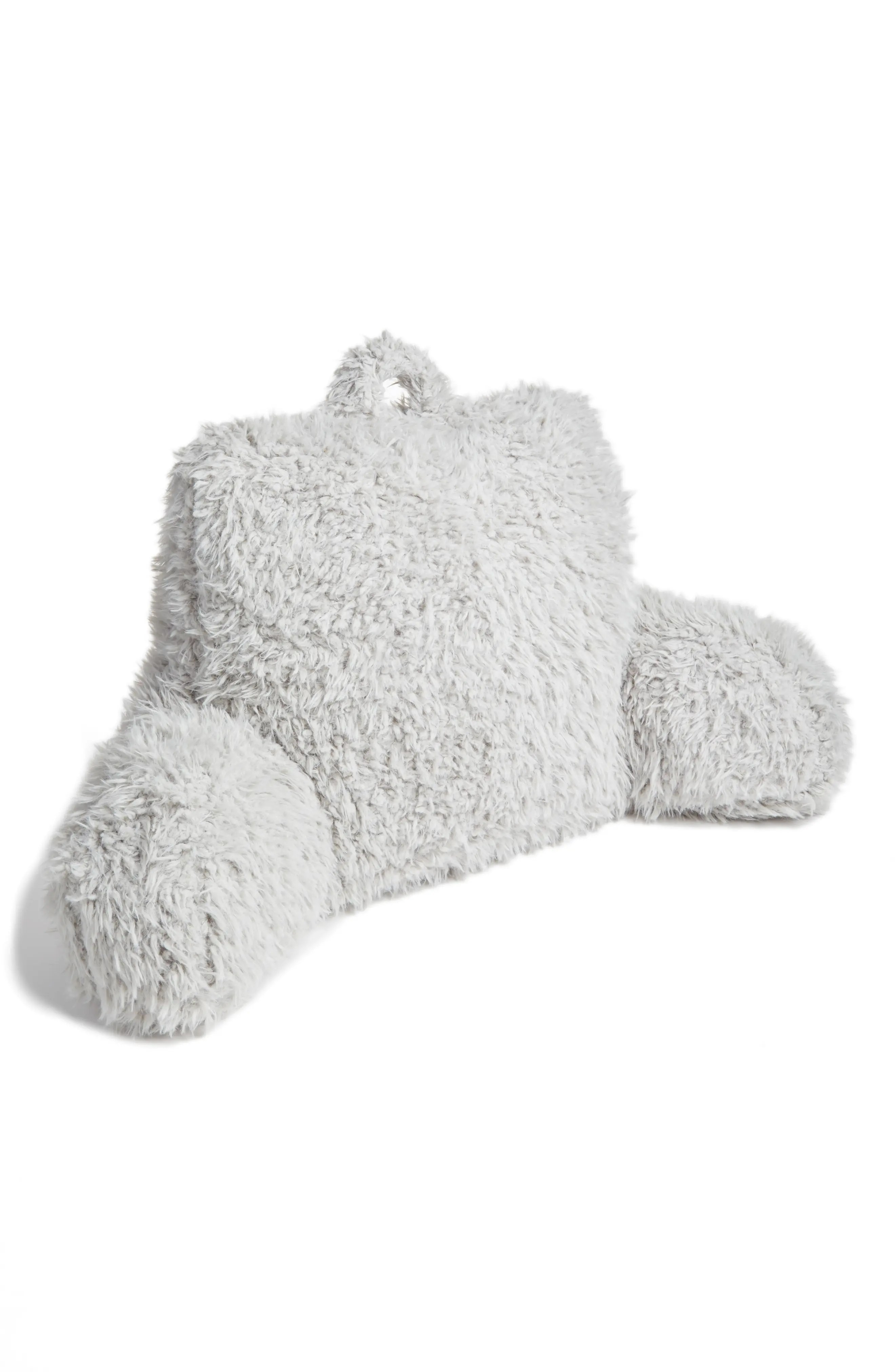 Nordstrom At Home Shaggy Faux Fur Backrest Pillow Nordstrom