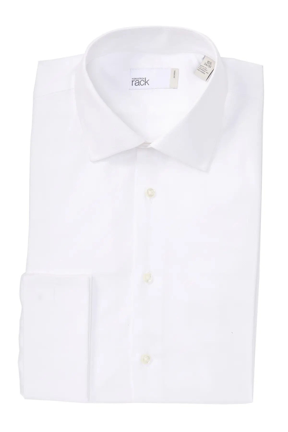 nordstrom rack solid french cuff trim fit dress shirt nordstrom rack