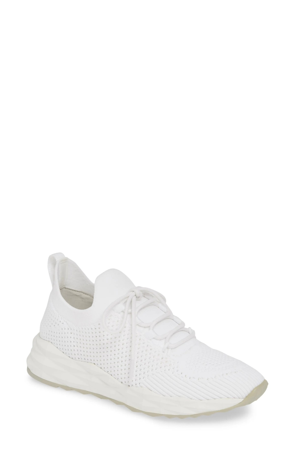 ASH Knit Skate Sneaker, Main, color, WHITE/ OFF WHITE