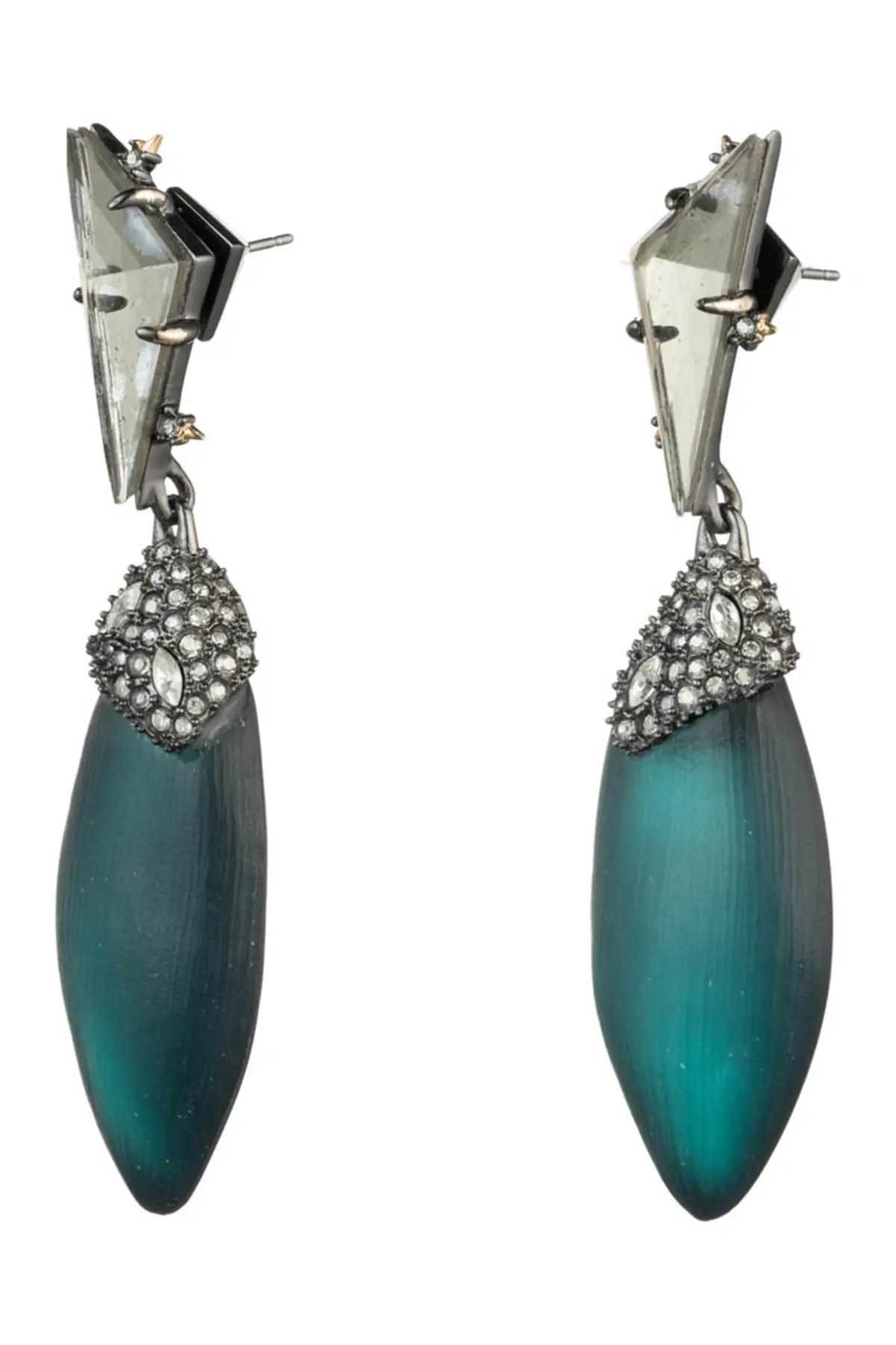 alexis bittar crystal stone drop earrings nordstrom rack