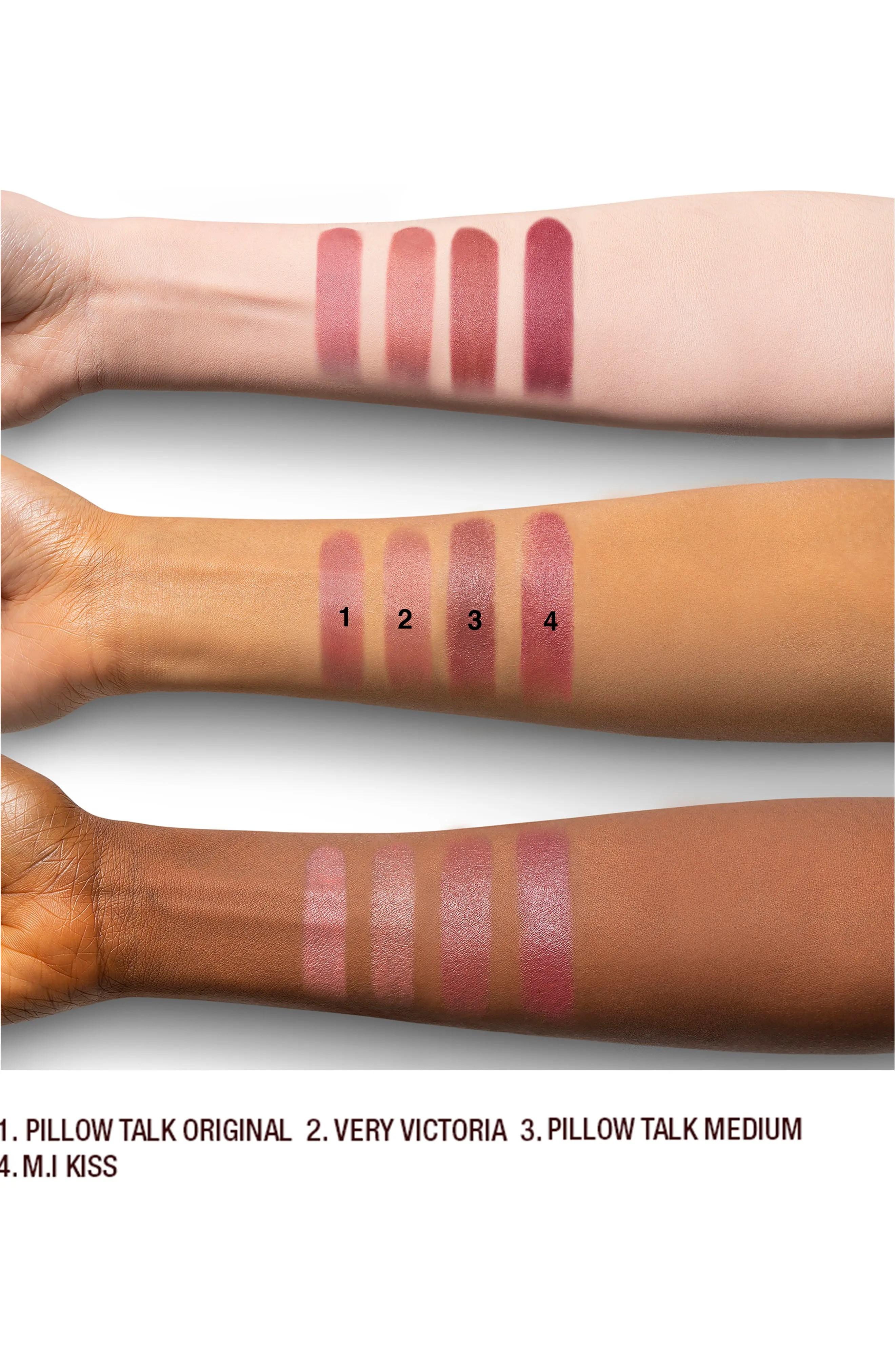 charlotte tilbury matte revolution lipstick pillow talk medium nordstrom rack